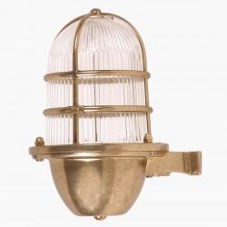 Φωτιστικό Επιτοίχιο Εξωτερικού Χώρου από Ορείχαλκο. ART BR433 Brass