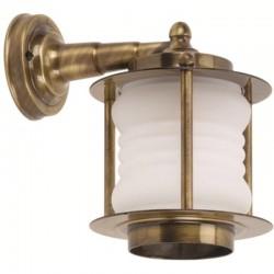 Φωτιστικό απλίκα τοίχου. ΑΡΤ BR454K brass antique